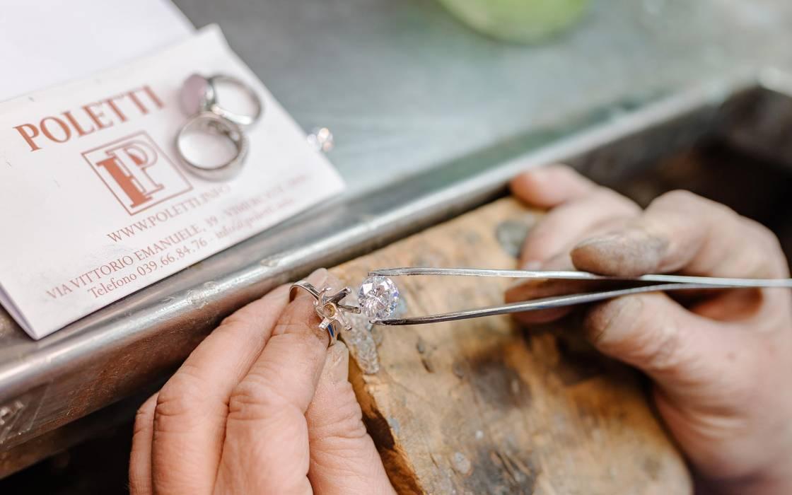 laboratorio orafo vimercate gioielleria poletti